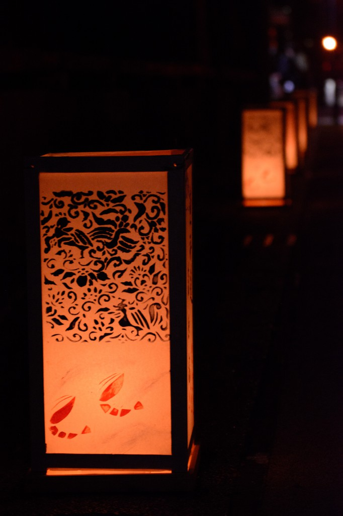蒲原『宵祭り』の行灯