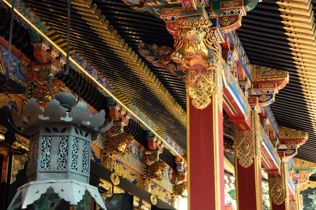 久能山東照宮の拝殿