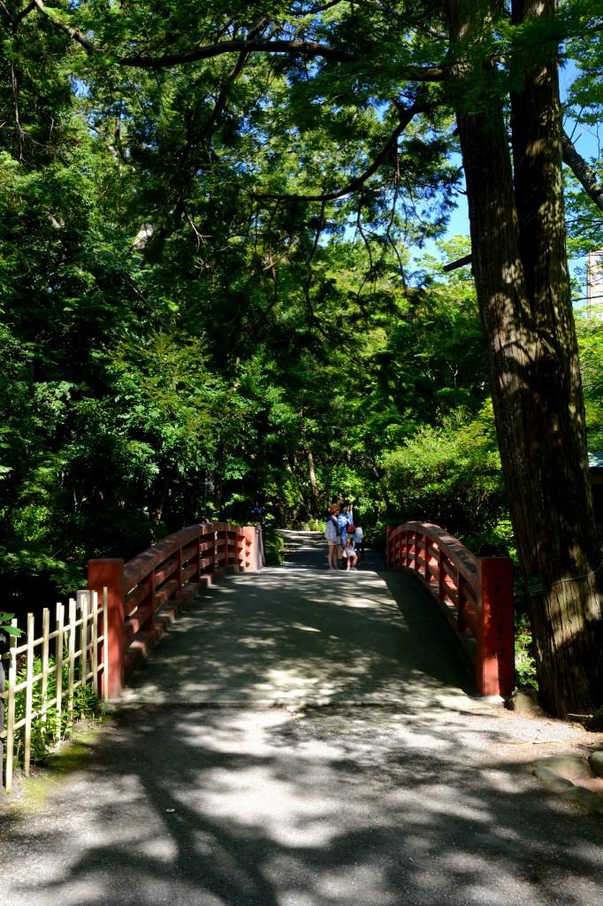 楽寿館の近くにかかる橋